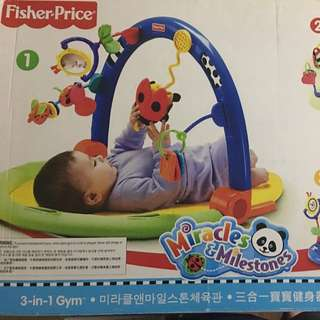 Fisher price 3 in 1 gym