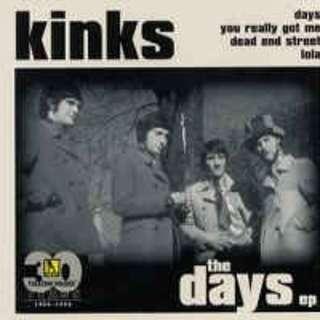 Kinks The Days EP cd single