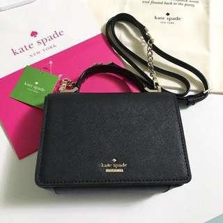 美國訂購全新現貨 Kate Spade斜揹袋連塵袋 (專櫃貨品)