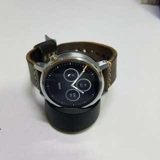 Moto 360 (2nd Gen) Mens 46mm Smart watch