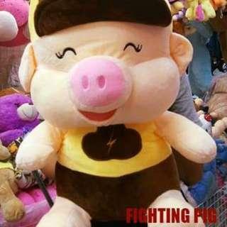 Fighting Pig