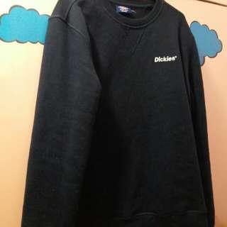dickies深藍細logo衛衣
