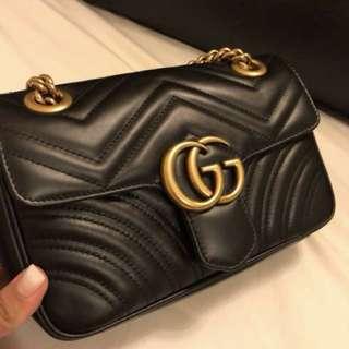 Gucci GG Marmont mini matelasse bag