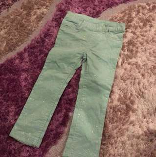 H&M sparkly jeans