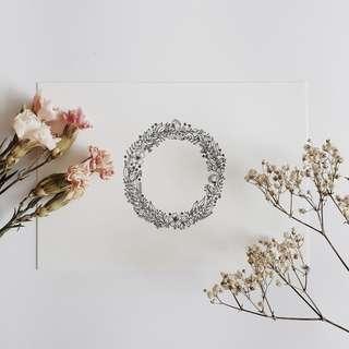 flower wreath #3