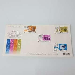 1983年皇家天文台百周年紀念首日封