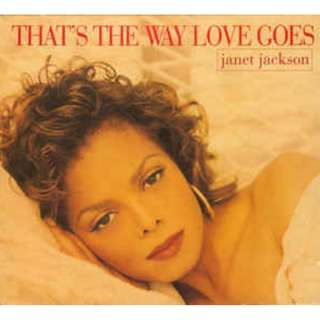 Janet Jackson ‎That's The Way Love Goes cd single