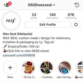 0608waxseal CHECK OUT OUR INSTA 💕