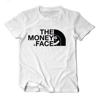 The Money Face Funny Spoof Tee