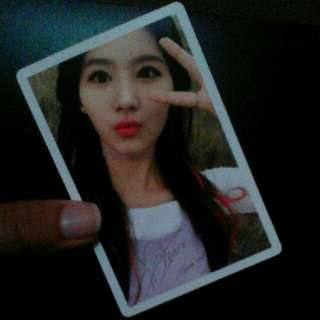 Sana Twicecoaster Lane 1 Photocard