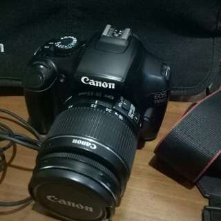 Canon EOS 1100D - 18-55mm