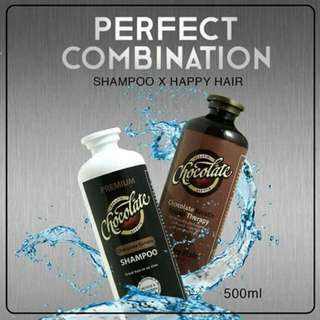 Chocolate Shampoo and Chocolate Keratin