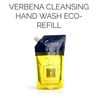 Loccitane Verbena Cleansing Hand Wash Eco-Refill Soap (500ml)