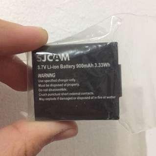 SJ Cam Spare Battery 3.7V Li-ion Battery 900mAh 3.33Wh