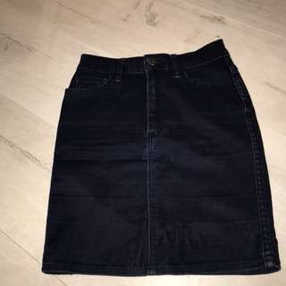Vintage Lee denim skirt