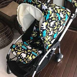 [Pre-loved] Bugaboo bee with customized canopy