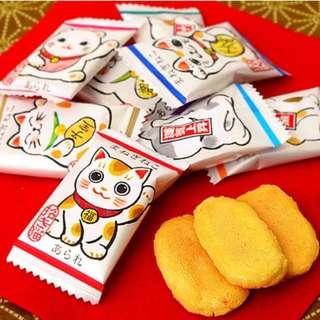 招財貓小米餅