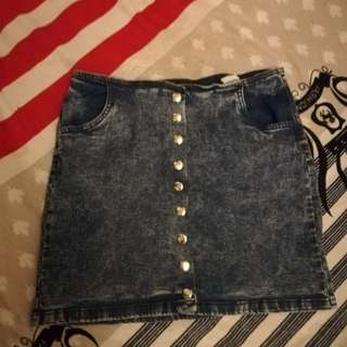 Denimn skirt