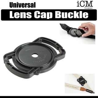 Mirrorless DSLR Camera Lens Cap Buckle Holder for all sizes