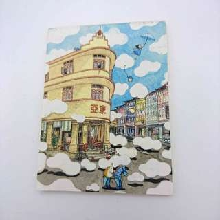 Cute little note memo pad 30s (free delivery)