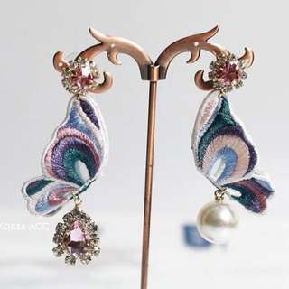 Butterfly Lux Patch Earrings
