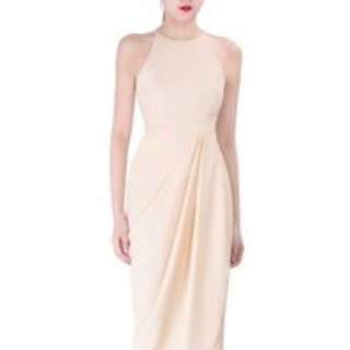 Doublewoot docazy cream dress