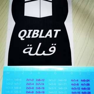 Qiblat stickers