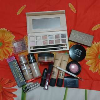 High end and drugstore makeup bundle
