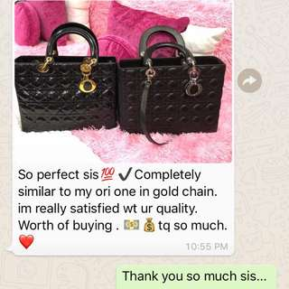 Another feedback from one of my loyal client😍🙏🏼😊