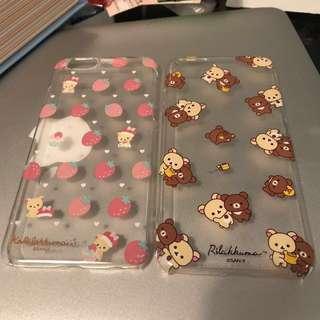 Iphone7 Rilakkuma Case 鬆弛熊電話殻