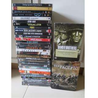 FS: USED DVDs