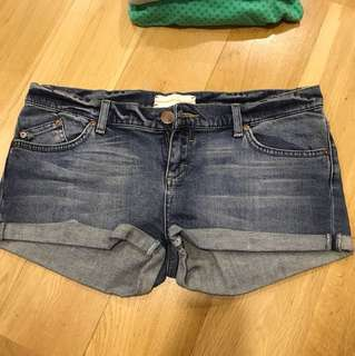 Top Shop Denim Shorts
