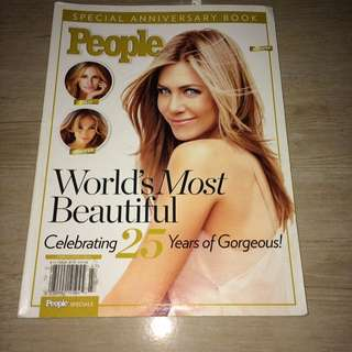 People's World's Most Beautiful: Celebrating 25 Years of Gorgeous