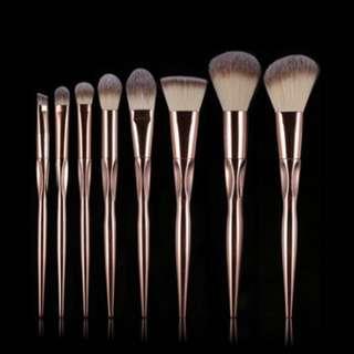 8 Piece Make Up Brush Set