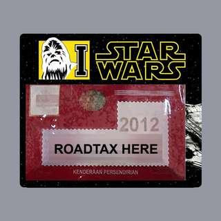 Road Tax Star Wars - Chewbacca
