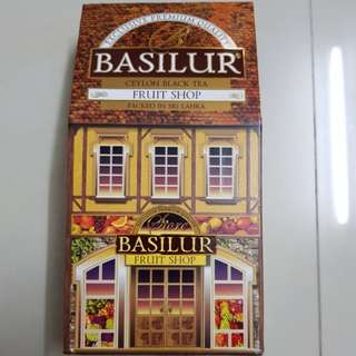 Basilur Fruit Shop Ceylon Black Tea