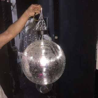 New Disco ball / used club equipment going at below cost