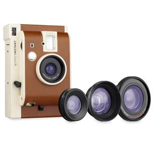 Valentines Gift for Her - Lomo'Instant Sanremo Edition Instax Camera + 3 Lens Kit
