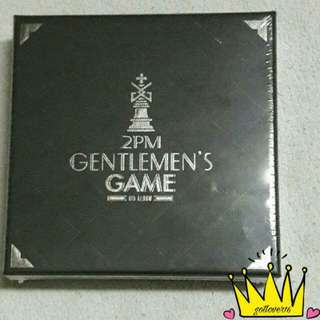 2PM ~ GENTLEMEN'S GAME ( NORMAL EDITON )