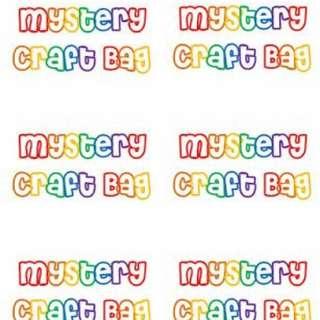 Craft mystery bag!