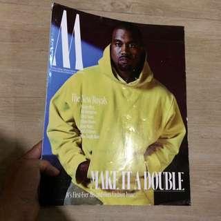 Kanye West W magazine