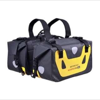 100% Waterproof saddle bag 25 litre