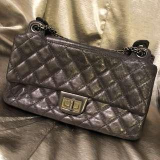 🈹🈹🈹灰銀Chanel 可斜孭 可側孭袋