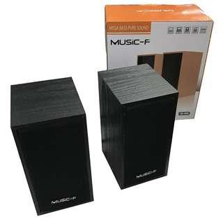 Music-F Mega Bass Pure Sound Speaker