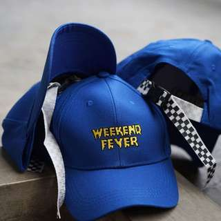 Topi Baseball Weekend Fever Blue