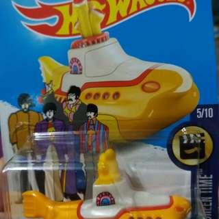 Authentic Yellow Submarine Matchbox