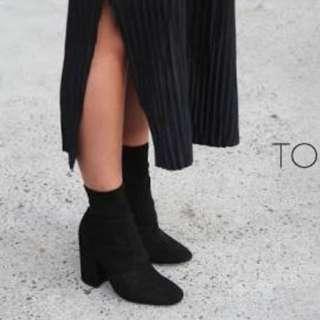 Tony Bianco Ajay Velvet Boots