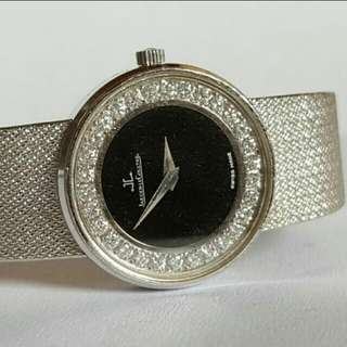 Vintage diamonds 18k WG JLC