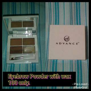 Eyebrow Powder with wax