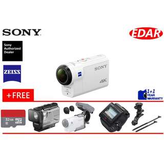 SONY FDR-X3000R BUY 1 FREE 5 !!! (ORIGINAL & OFFICIAL SONY)